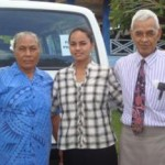 Wife  Falesoa, daughter So'otaga Misa and the late Tua'oima'alii Numera